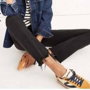 Size 26 madewell Cali demi-boot Black jeans